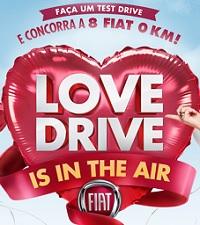 www.fiat.com.br/lovedrive, Promoção Fiat Love Drive Is in the air