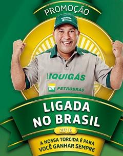 www.liquigasligadanobrasil.com.br, Promoção Ligada no Brasil 2016 Liquigás