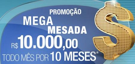 www.oticascarol.com.br/promocao, Promoção Mega Mesada Óticas Carol
