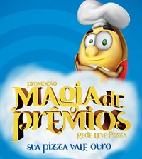 redelevepizza.com.br/magiadepremios, Promoção Rede Leve Pizza Magia de Prêmios