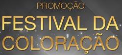 www.festivaldacoloracao.com.br, Promoção Festival da Coloração Garnier e L´Oréal