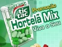 www.tictac.com.br/promocao, Promoção TicTac Hortelã Mix