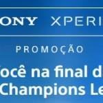 www.promocaosonyxperia.com.br, Promoção Sony Xperia UEFA Champions League