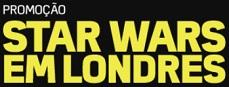 Promoção PBKids Star Wars em Londres