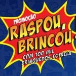 www.estrela.com.br/raspou-brincou, Promoção Estrela Raspou Brincou