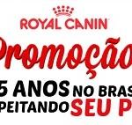 www.promocao25anosroyalcanin.com.br, Promoção Royal Canin 25 Anos