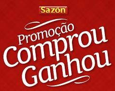 Promoção Sazón Comprou Ganhou