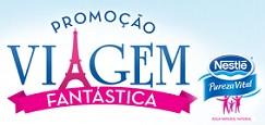 www.promoviagemfantastica.com.br, Promoção Viagem Fantástica Nestlé Pureza Vital