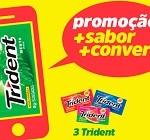 www.maisconversacomtrident.com.br, Promoção Trident +Conversa +Sabor