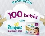 www.descubrapg.com.br/pamperspremiumcare, Promoção 100 bebês com Pampers Premium Care