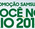 www.samsung.com.br/rio2016/promocao, Promoção Samsung Você no Rio 2016