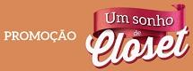 www.sonhodecloset.com.br, Promoção Um Sonho de Closet - Shopping Total