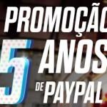 www.paypal-brasil.com.br/5anos, Promoção 5 anos de PayPal