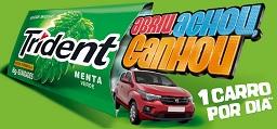 www.carronotrident.com.br, Promoção Trident Abriu, Achou, Ganhou
