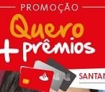 www.santanderesfera.com.br/MaisPremios, Promoção quero mais prêmios Santander Esfera