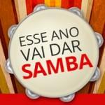 www.santander.com.br/vaidarsamba, Esse ano vai dar Samba Santander