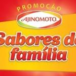 Promoção Ajinomoto 2017 sabores de família