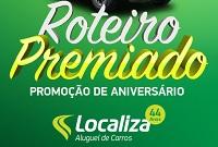 www.localiza.com/roteiropremiado, Promoção Roteiro premiado Localiza
