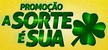 asorteesua.com, Promoção a sorte é sua supermercados Cidade Canção
