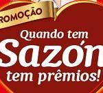 Promoção Sazón 2017 Quando tem Sazón tem prêmios