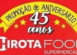 Promoção Aniversário Hirota Food 45 Anos