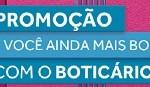 boticario.com.br/promoaindamaisbonita, Promoção Você Ainda Mais Bonita Boticário