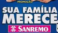 promocaosanremo.com.br, Promoção Sua família merece Sanremo