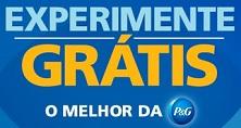 www.experimentepg.com.br, Promoção experimente grátis P&G