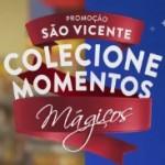 www.svicente.com.br/colecionemomentosmagicos, Promoção colecione momentos mágicos São Vicente supermercados