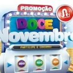 nagumo.com.br/docenovembro, Promoção Doce Novembro Nagumo
