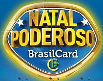 Promoção Natal Poderoso BrasilCard