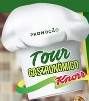 tourgastronomicoknorr.com.br, Promoção tour gastronômico Knorr