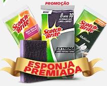 esponjapremiada.com.br, Promoção Esponja Premiada Scotch-Brite