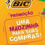 Promoção Bic 2018 Uma Mãozinha para suas Compras