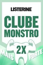 www.clubemonstro.com.br, Promoção Listerine Clube Monstro 2x Mais Forte