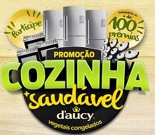 www.daucymaissaudavel.com.br, Promoção D'aucy Cozinha Saudável