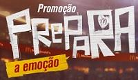 www.mcdonalds.com.br/prepara, Promoção McDonald's Prepara a Emoção