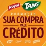 suacompravalecredito.com.br, Promoção Tang e Royal 2018 crédito celular