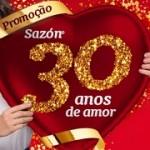 www.promosazon.com.br, Promoção Sazón 30 anos de amor