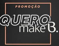 boticario.com.br/queromakeb, Promoção Quero Make B. O Boticário