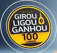 ofertas.renault.com.br/girouligouganhou, Promoção Girou Ligou Ganhou Renault 2018