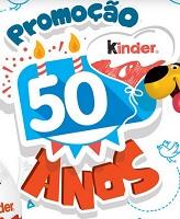 Promoção Kinder ovo 50 Anos
