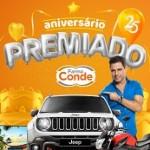 farmaconde.crmall.com, Promoção Aniversário Premiado Farma Conde