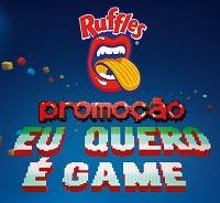 www.ruffles.com.br, Promoção Ruffles Eu quero é Game