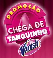 www.vanishchegadetanquinho.com.br, Promoção Vanish chega de tanquinho