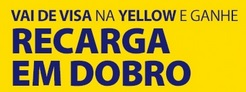 www.visa.com.br/yellow, Promoção Yellow recarga em Dobro com Visa