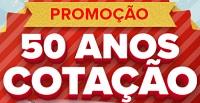 cotacao50anos.com.br, Promoção 50 anos Cotação