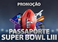 vaidevisa.com.br/passaportesuperbowlliii, Promoção Visa e Netshoes Passaporte Super Bowl LIII
