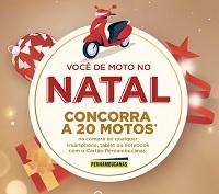 vocedemoto.pernambucanas.com.br, Promoção Você de moto no Natal Pernambucanas 2018
