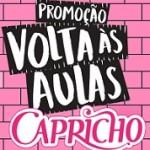 Promoção Volta às Aulas no Capricho 2019